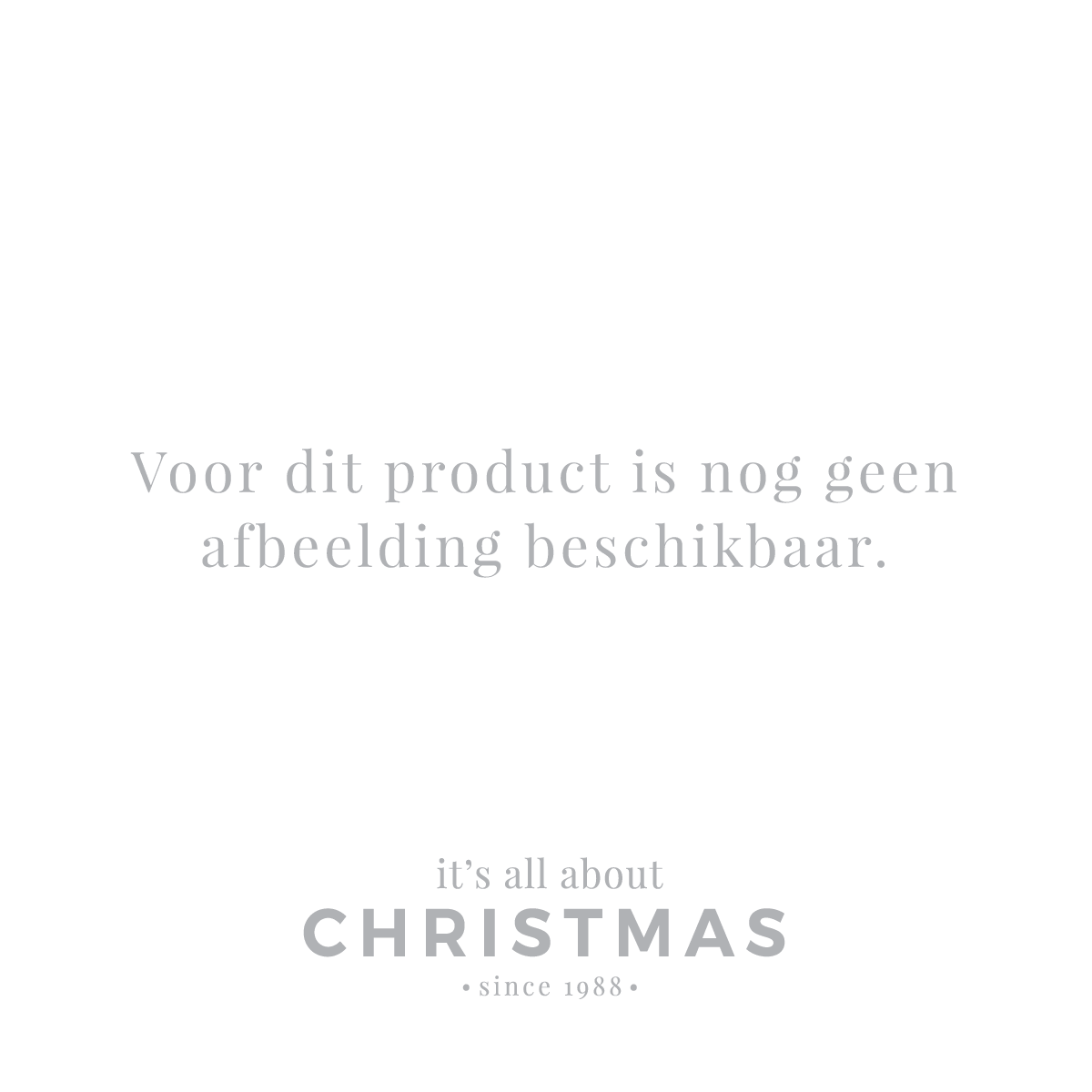 Christmas tree - Home Sweet Home - 15cm - Brown