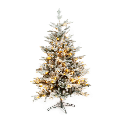 Christmas tree Finn snowy pine 185cm 250 LED
