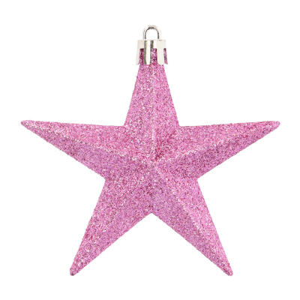 12 Christmas Stars 10cm Pastel Mix