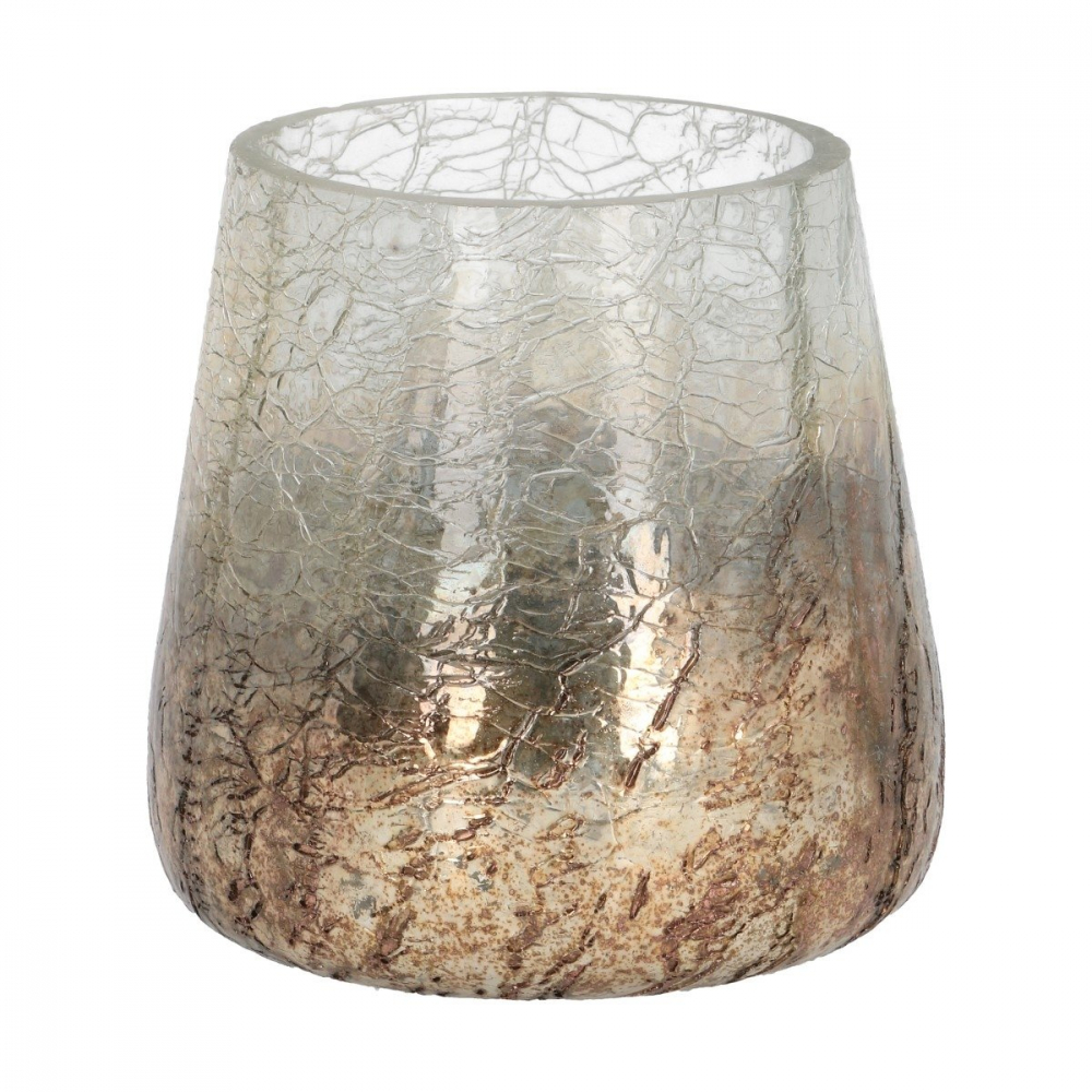 Tealight Edon Copper 10 cm